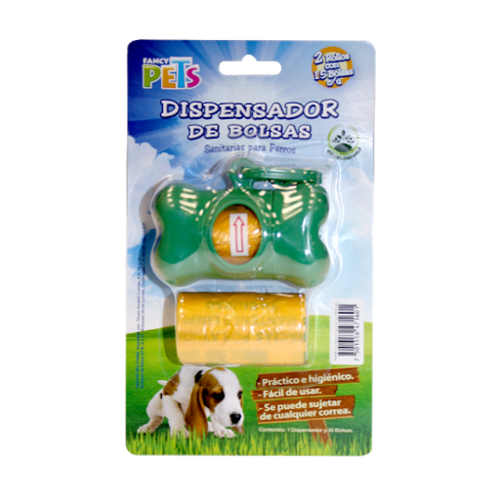 Fancy Pets Dispensador C/40 Bolsas Desechables