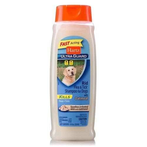 Hartz Shampoo Antipulgas Avena