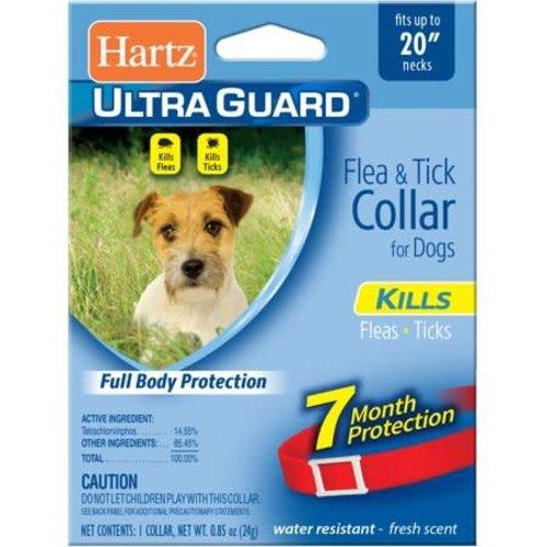 Hartz Collar Antipulgas 2 En 1 Perros / 5 Meses (Rojo)