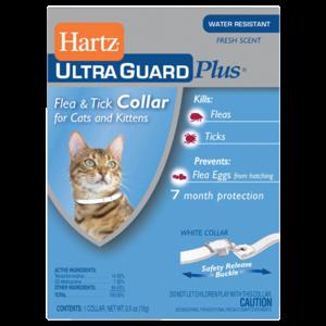 Hartz Collar Antipulgas 3 En 1 Gatos / 7 Meses
