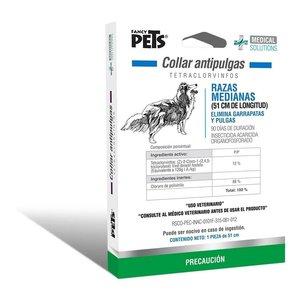 Fancy Pets Soluciones médicas Canine Collar Antipulgas P/Razas Medianas 51 cm