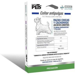 Fancy Pets Soluciones médicas Canine Collar Antipulgas P/Razas Chicas y Cachorros 39 cm