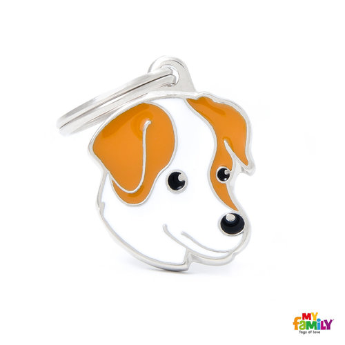 My Family Placa Perro Jack Russell