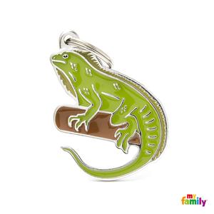 My Family Placa Wild - Iguana