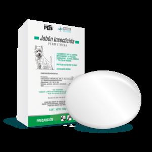 Fancy Pets Soluciones médicas Ms Jabon Insecticida 100 g