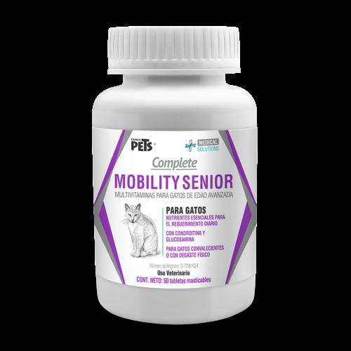 Fancy Pets Soluciones médicas Ms Complete Mobility Senior P/Gatos - 60 Tabl