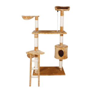 Fancy Pets Mueble P/gato Casa Y Escalera 158 cm