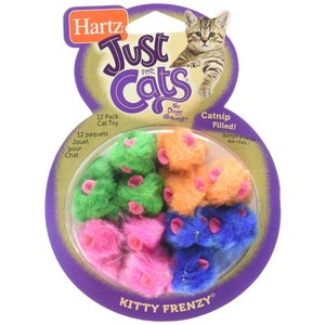 Hartz Juguete P/Gato Kitty Frency 12 pza