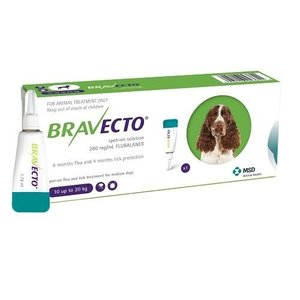 Laboratorio MSD Bravecto Spot On 500 mg