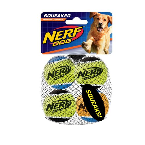 Nerf Squeak Tennis -4pza XCH