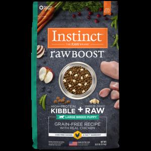 Instinct Canine Raw Boost Cachorro Razas Grandes 9.8 kg (20 lb)