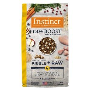 Instinct Canine Raw Boost Pollo y Granos de Arroz Integral 9.8 kg (20 lb)