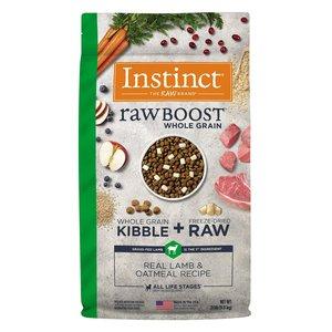 Instinct Canine Raw Boost Cordero con Granos y Arroz Integral 9.8 kg (20 lb)