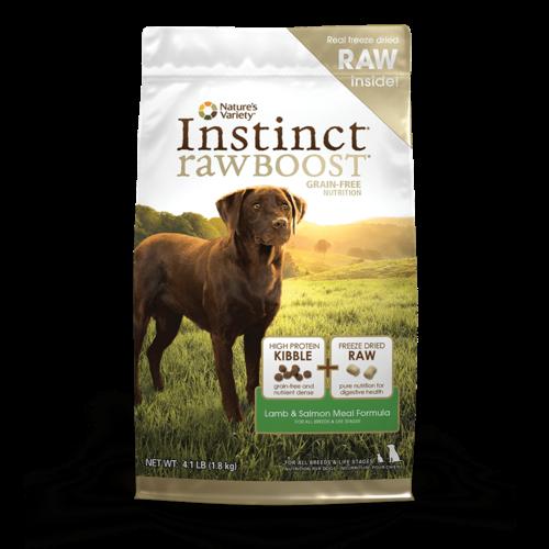 Instinct Canine Raw Boost Cordero Y Salmon
