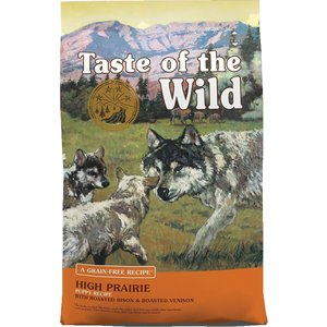 Diamond Taste Of The Wild Canine Cachorro High Praire Bisonte Y Venado