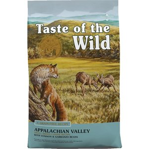 Diamond Taste Of The Wild Canine Adulto Raza Pequña Appalachian Valley Venado