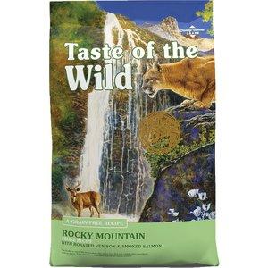 Diamond Taste Of The Wild Feline Adulto Rocky Mountain Venado Asado Y Salmón Ahumado