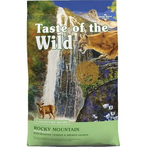 Diamond Taste Of The Wild Feline Adulto Rocky Mountain Venado Asado Y Salmón Ahumado
