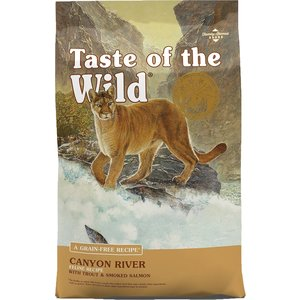 Diamond Taste Of The Wild Feline Adulto Canyon River Trucha Y Salmón Ahumado