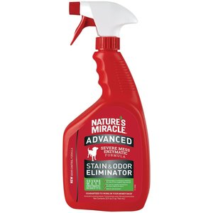 Natures Miracle Spray Removedor Manchas Y Olores Dificiles 946 ml