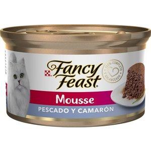 Proplan Feline Lata Fancy Feast Mousse Pescado y Camarón 85 g