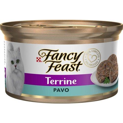 Proplan Feline Lata Fancy Feast Terrine Pavo 85 gr