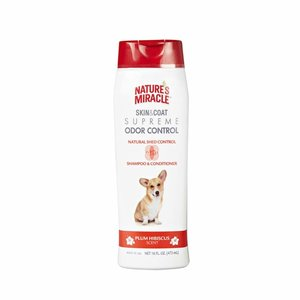 Natures Miracle Shampoo y Acondicionador Control Caída de Pelo Beneficio 4 en 1 - 473 ml
