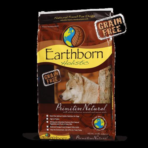 Earthborn Canine Holistic Grain Free Primitive Natural
