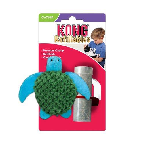 Kong Tortuga Con Catnip* (DESC)