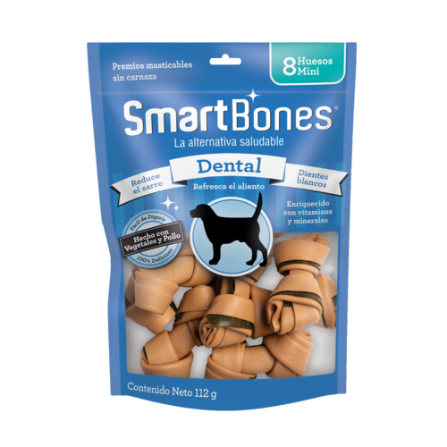 Smart Bones Canine Huesos Dental Mini