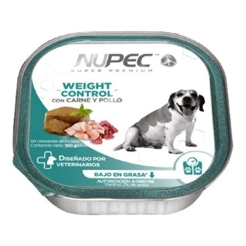 Nupec Canine Alimento Húmedo Weight Control 100 g