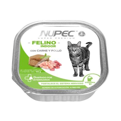 Nupec Feline Indoor Alimento Húmedo 100 g