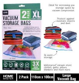 Storage Bags Vacuum 110cm x 100cm 2pk