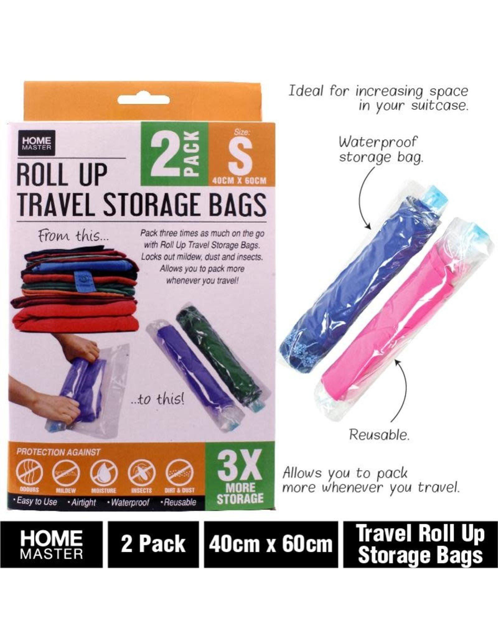 Storage Bags Travel Roll Up  40 x 60cm 2pk