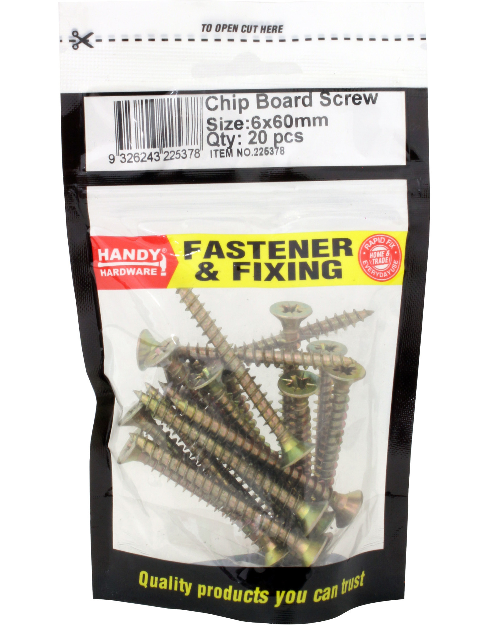 Handy Hardware Chipboard Screws