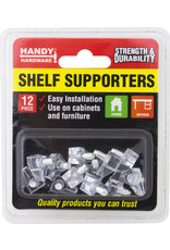 Shelf Supporters 12pc