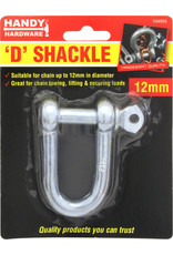 D Shackle 12mm 1Pc