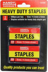 Staples Heavy Duty 2x 500pk