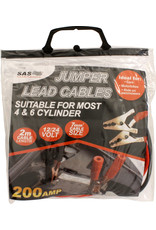 Jumper Lead Cables 200 AMP