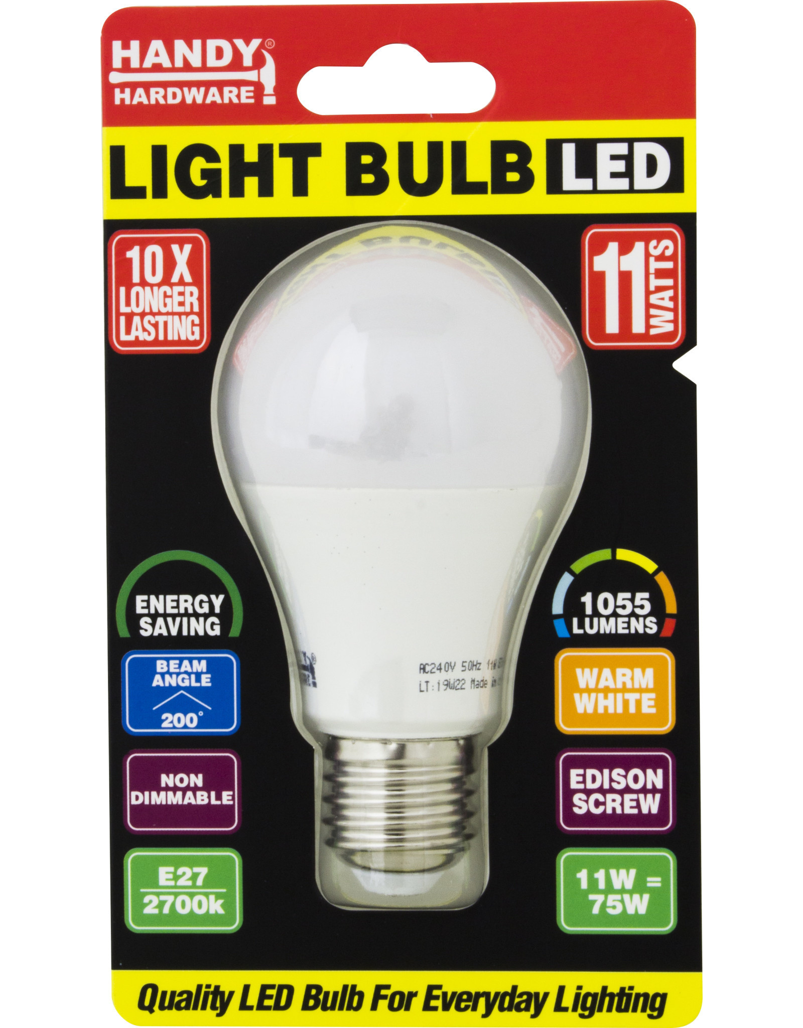 Handy Hardware Edison Light Globes LED