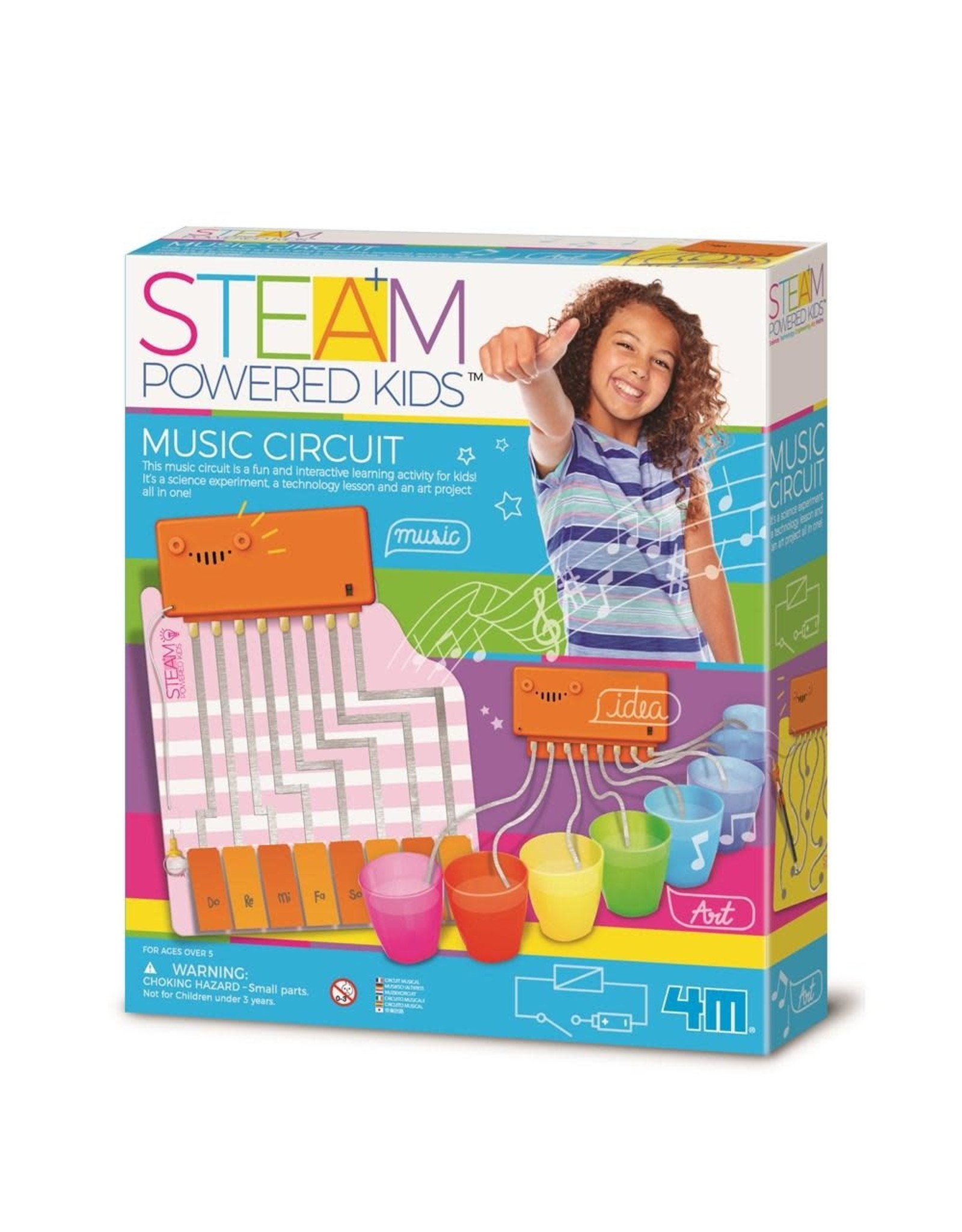 4M Steam Powered Kids Music Circuit