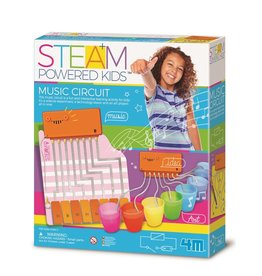 4M Steam Powered Kids Music Circuit