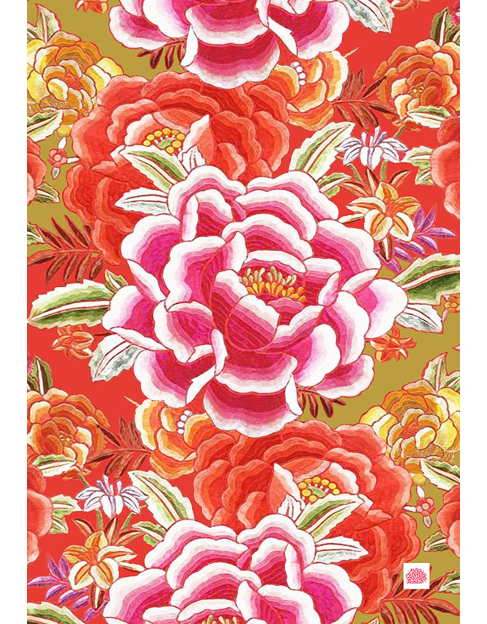 Anna Chandler Design Velvet Throw –  Tropicana