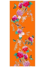 Anna Chandler Design Scarf Tangerine Bird