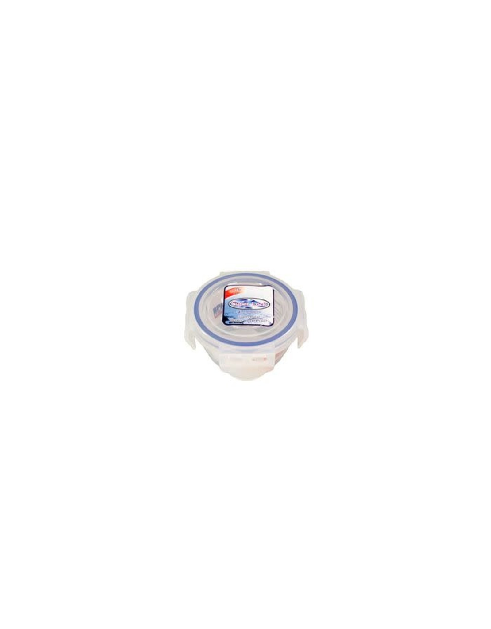 Super Lock Super Lock Container Round BPA Free