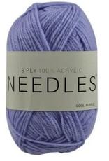 Light Coloured Acrylic Yarn 8Ply 100gr