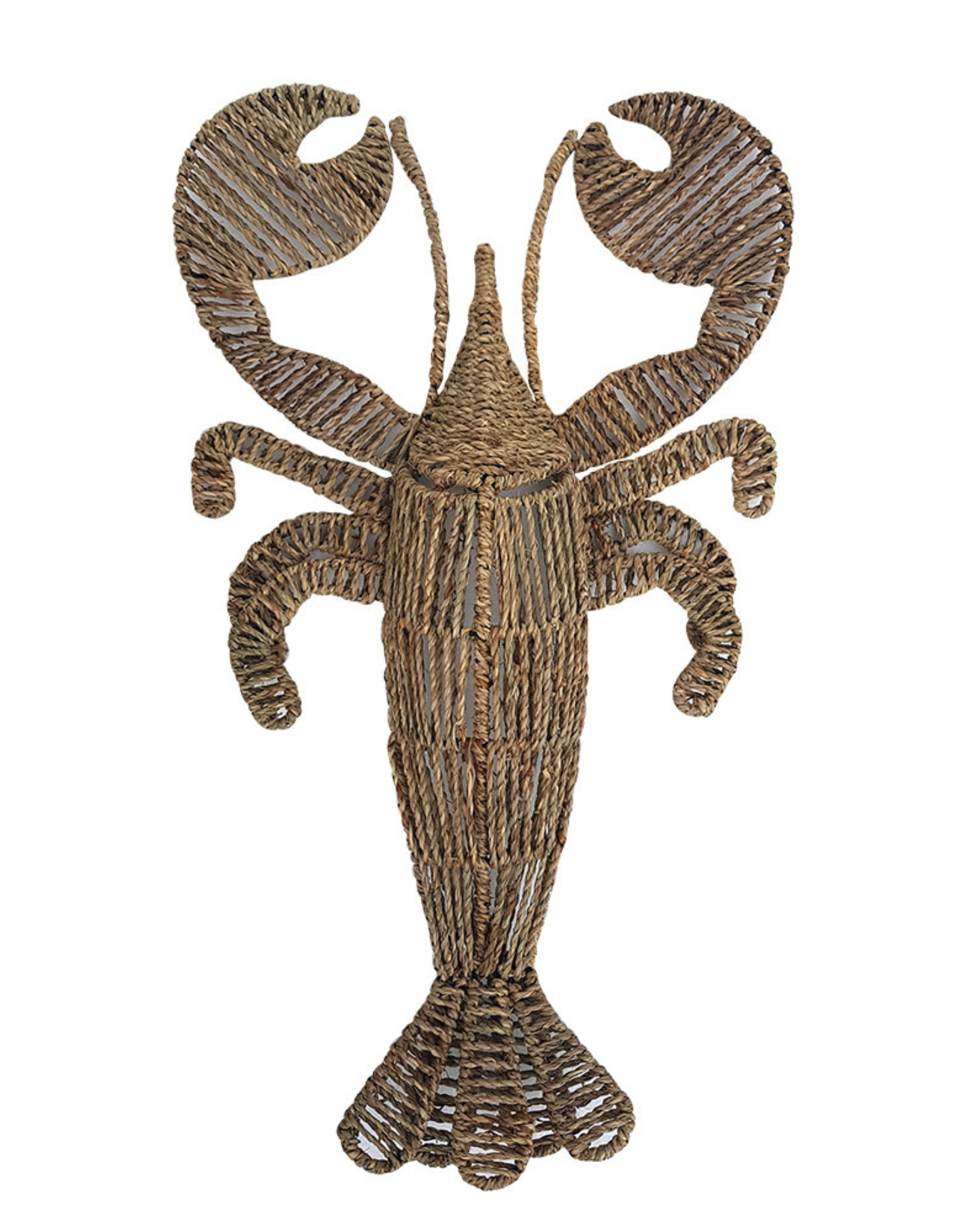 LOBSTER WOVEN WALL HANGING 40x70cm
