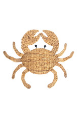 CRAB WOVEN WALL HANGING 50x45cm