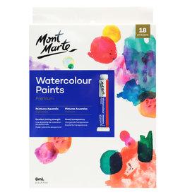 Mont Marte Mont Marte Watercolour Paint Set 18pc x 8ml