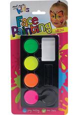 Mont Marte Mont Marte Kids Face Painting Set - Neon